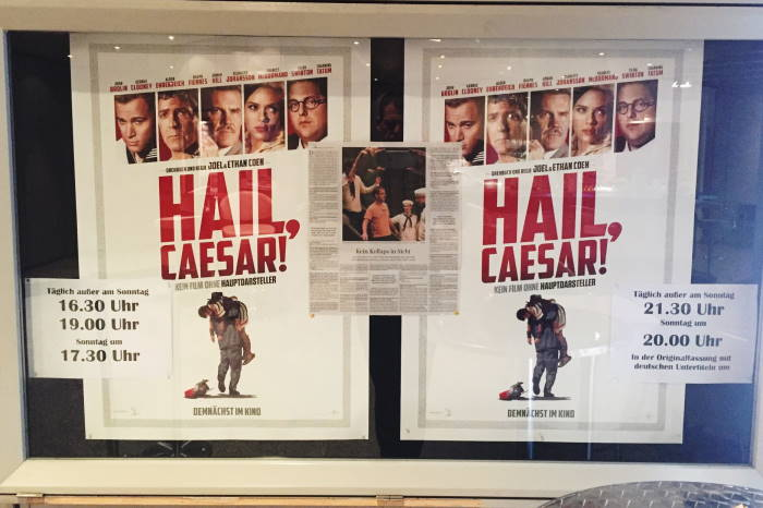 Hail Caesar Movie Poster Munich