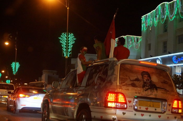 Oman, Muscat, National Day, Car Parade 4