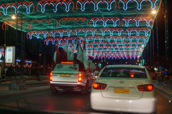 Oman, Muscat, National Day, Car Parade 3